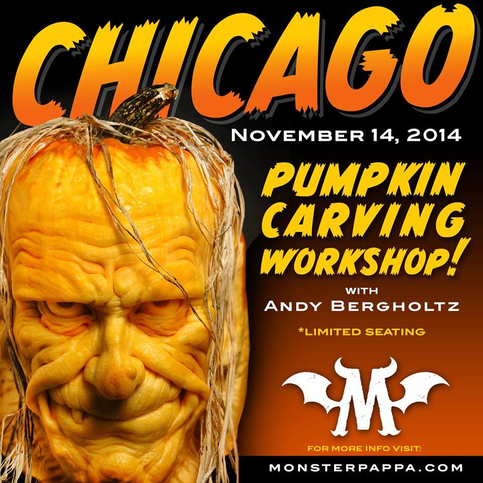 Monsterpappa Pumpkin Carving Workshop