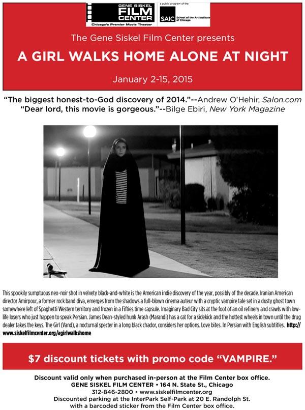 A GIRL WALKS HOME ALONE