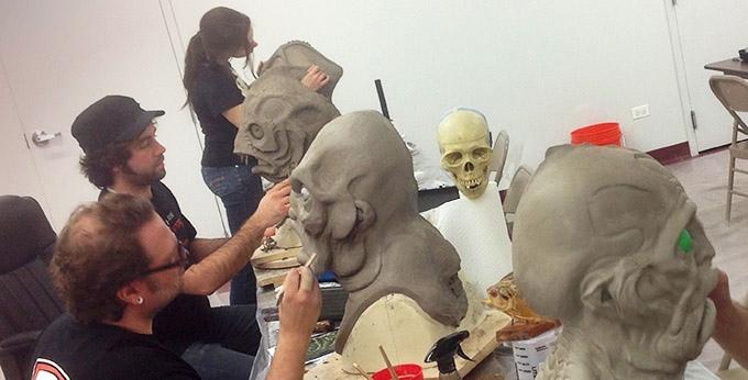 Anthony & the Kosart Studio artists making Deep Ones
