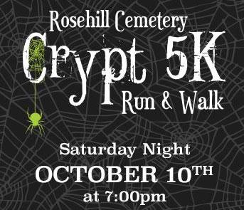 Rosehill Cemetery Crypt 5K Run & Walk