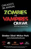 Zombies vs. Vampires Pub Crawl