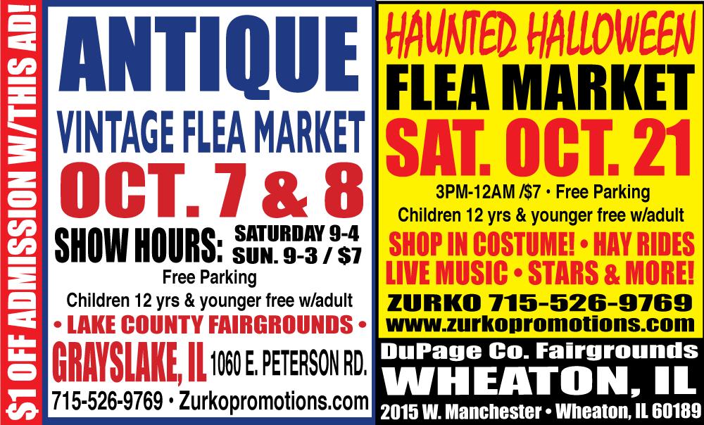 Wheaton Haunted Halloween Flea Market
