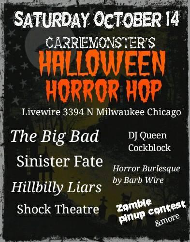 Carrie Monsters Halloween Horror Hop