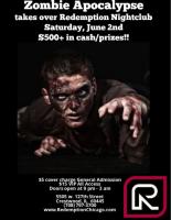 Zombie Apocalypse at Redemption Night Club